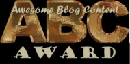 ABC (Awesome Blog Content) Award