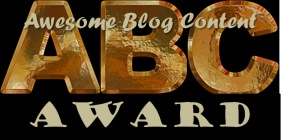 ABC Award (Awesome Blog Content)