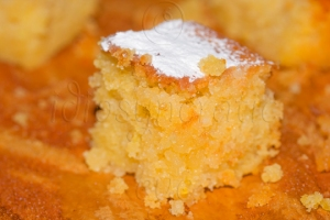 Bite-Sized Lemon Drizzle Cake