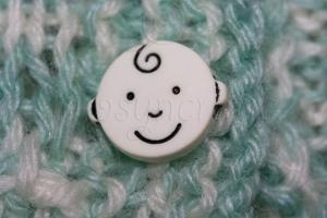 Baby Face Button