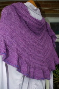 Back of Shawl