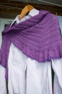 Front of Shawl