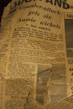 1956 - Cricket: England v Australia
