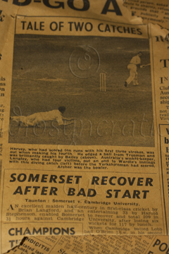 1956 - Somerset Cricket