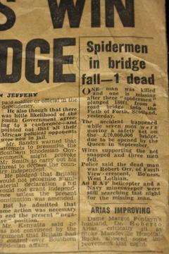 1964 - Accident on New Forth Bridge