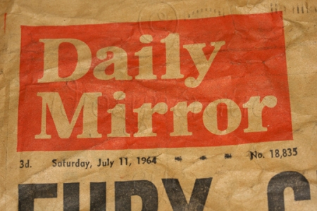 1964 - Daily Mirror for 3d