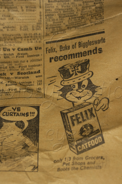 1964 - Felix Catfood (Supermarkets not Available)
