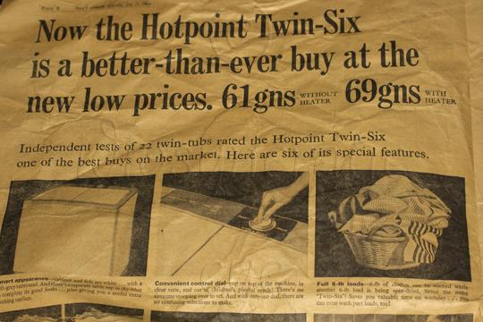 1964 - Hotpoint Twintub