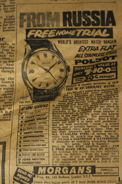 1964 - Russian Watch