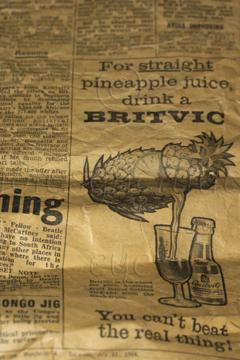 1964 - Straight Pineapple Juice