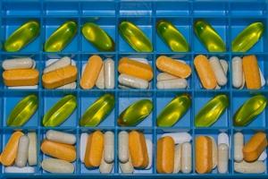 Supplements in a Pill Organiser