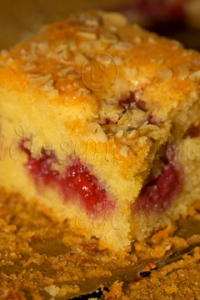 Almond, Raspberry and Lime Cake