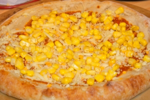 Barbecue 'Chicken' Pizza - Step I