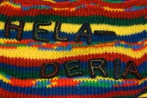 Heladeria Appliquéd Letters