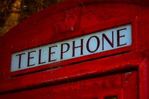 Old-Fashioned Phone Box