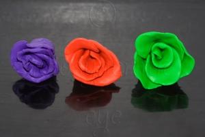 Plasticine Roses